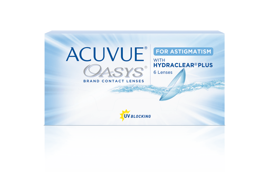 e11502d1d20 ACUVUE OASYS® for Astigmatism 2-Week. Get Free  Contact Lenses
