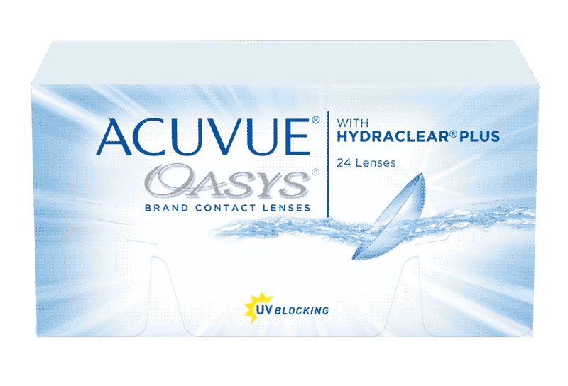 ACUVUE OASYS® 2-WEEK with HYDRACLEAR® PLUS